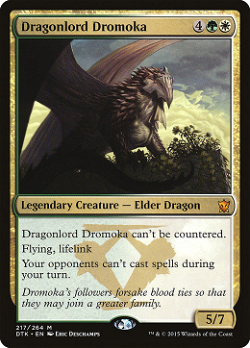 Dragonlord Dromoka image