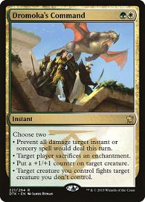 Dromoka's Command image