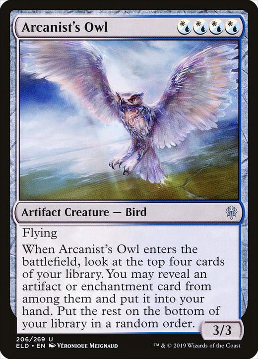 Arcanist's Owl image