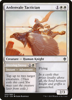 Ardenvale Tactician // Dizzying Swoop image
