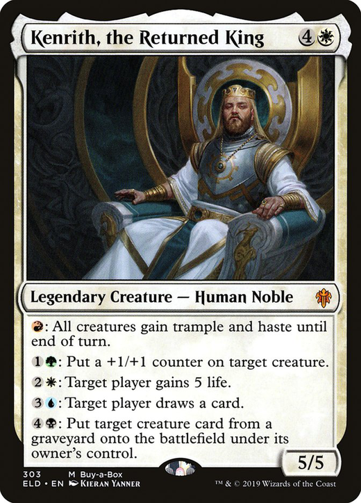 Kenrith, the Returned King image
