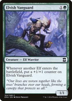 Elvish Vanguard image