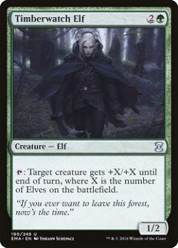 Timberwatch Elf image