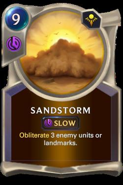 Sandstorm image