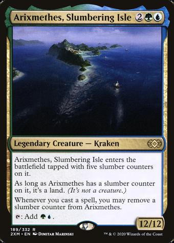 Arixmethes, Slumbering Isle image