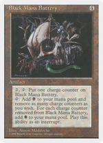 Black Mana Battery image