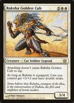 Raksha Golden Cub image