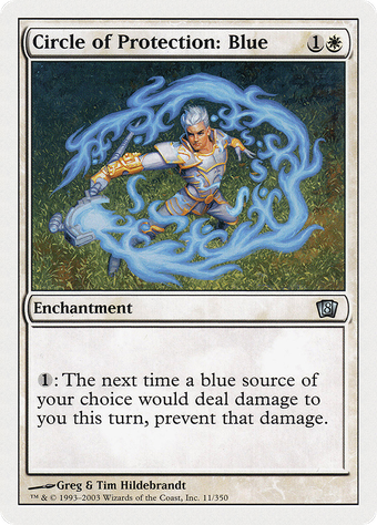 Circle of Protection: Blue image