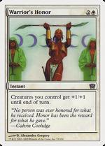 Warrior's Honor image