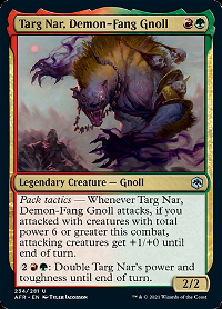 Targ Nar, Large Beast, Chaotic Evil image