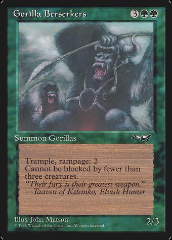 Gorilla Berserkers image