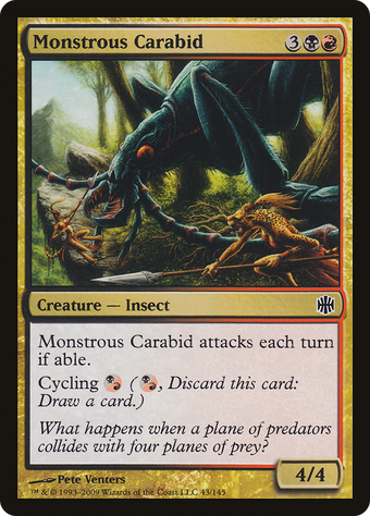 Monstrous Carabid image