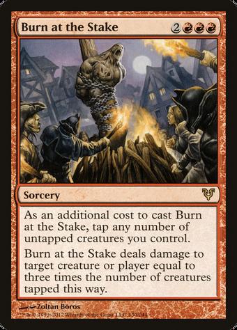 Burn at the Stake image