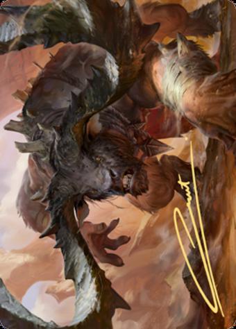 Moraug, Fury of Akoum Card // Moraug, Fury of Akoum Card image