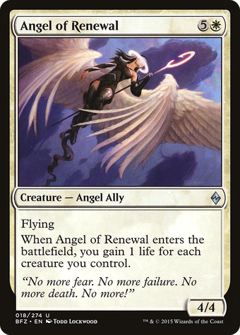 Angel of Renewal image