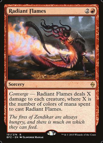 Radiant Flames image