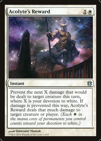 Acolyte's Reward image