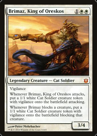 Brimaz, King of Oreskos image
