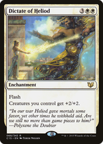 Dictate of Heliod image