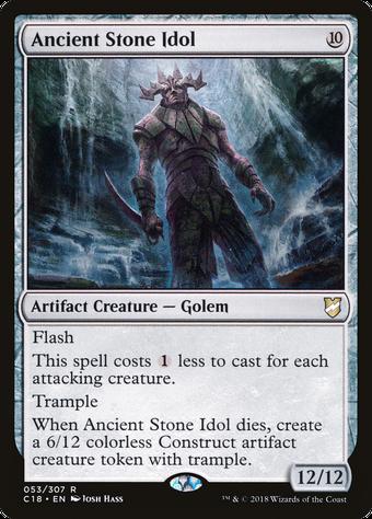 Ancient Stone Idol image