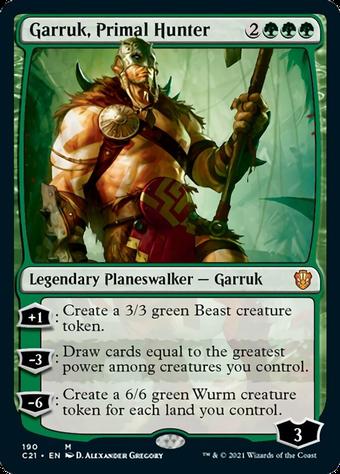 Garruk, Primal Hunter image