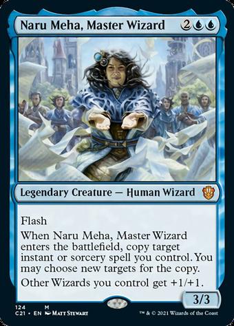Naru Meha, Master Wizard