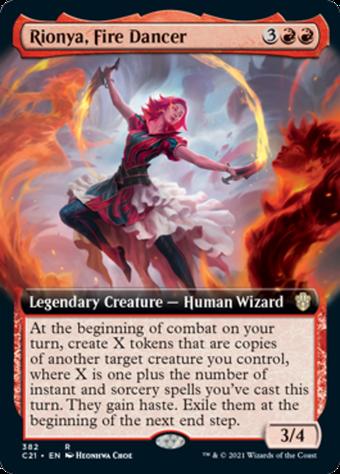 Rionya, Fire Dancer image