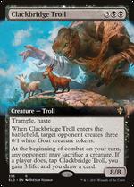 Clackbridge Troll image