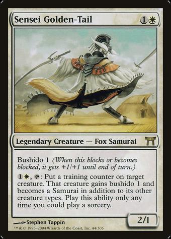 Sensei Golden-Tail image