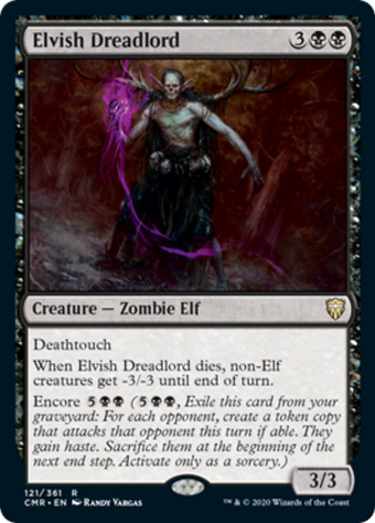 Elvish Dreadlord image