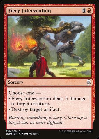 Fiery Intervention image