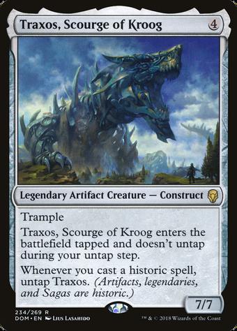 Traxos, Scourge of Kroog image
