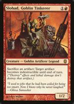 Slobad, Goblin Tinkerer image