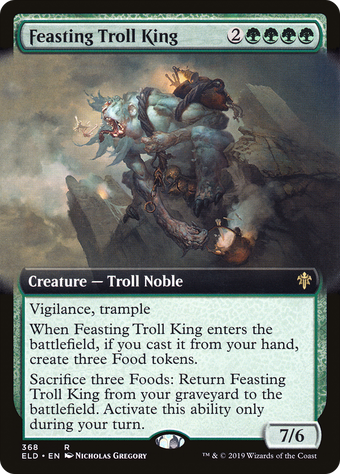 Feasting Troll King image