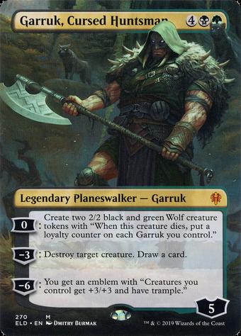 Garruk, Cursed Huntsman image