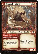 Rimrock Knight // Boulder Rush image