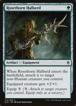 Rosethorn Halberd image