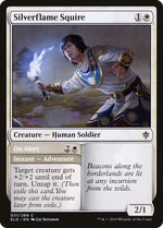 Silverflame Squire // On Alert image