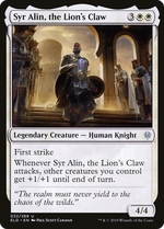 Syr Alin, the Lion's Claw image