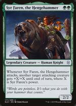 Syr Faren, the Hengehammer image