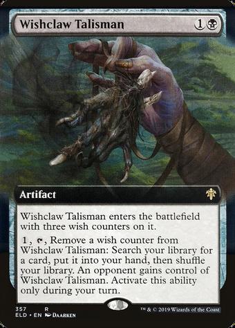 Wishclaw Talisman image