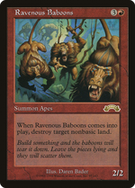 Ravenous Baboons image