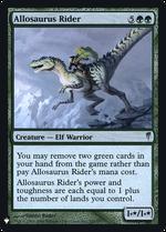 Allosaurus Rider image