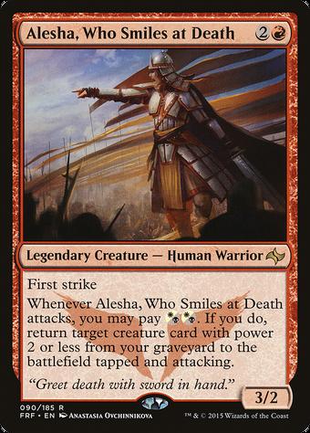 Alesha, Who Smiles at Death image