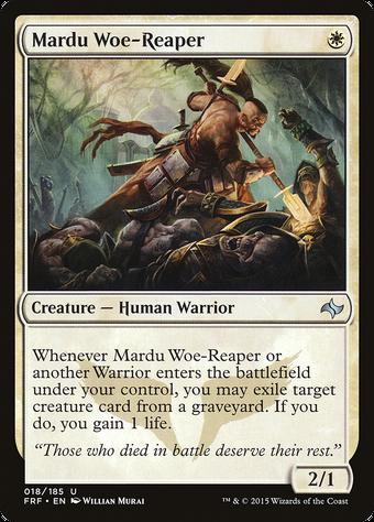 Mardu Woe-Reaper image