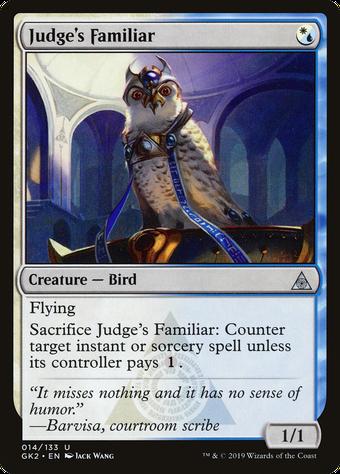 Judge's Familiar image