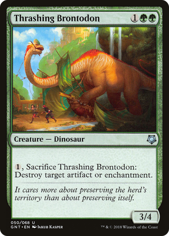 Thrashing Brontodon image