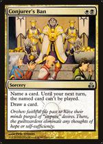 Conjurer's Ban image