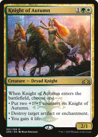 Knight of Autumn image