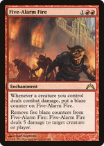 Five-Alarm Fire image